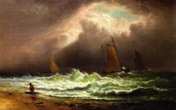 Crashing Waves | Charles Henry Gifford | oil painting