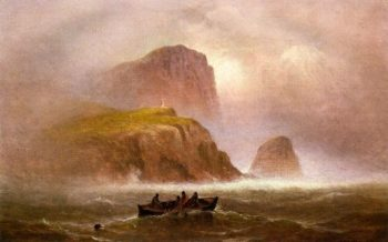 Off the Coast | Charles Henry Gifford | oil painting