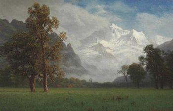 Jungfrau   Albert Bierstadt   oil painting