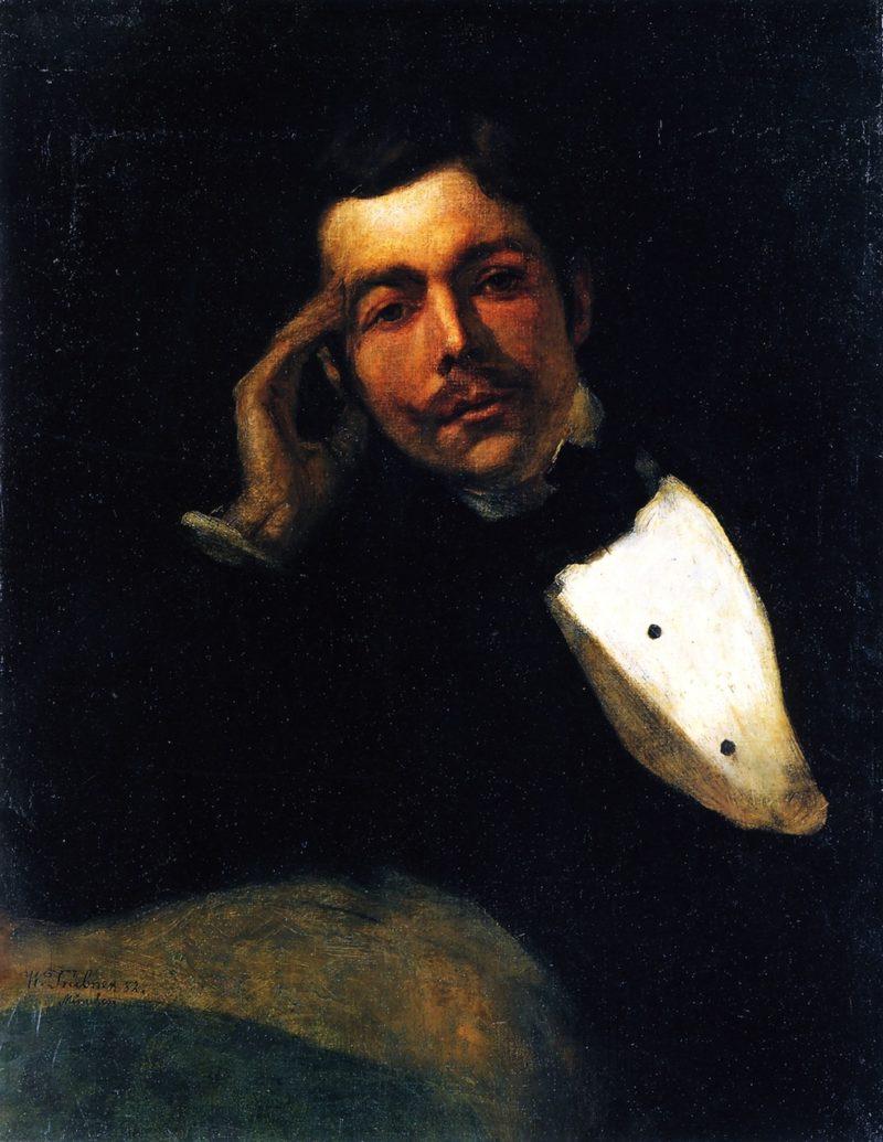 Self Portrait | Wilhelm Trubner | oil painting
