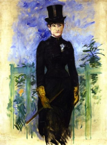 The Horsewoman | Edouard Manet | oil painting