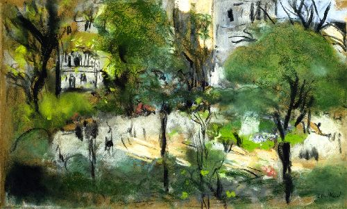 Berlioz Park | Edouard Vuillard | oil painting