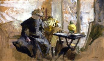 Corner of the Studio | Edouard Vuillard | oil painting