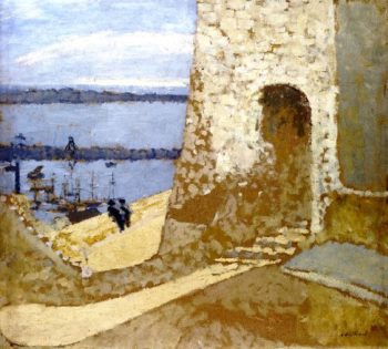 Mont Chevallier at Cannes | Edouard Vuillard | oil painting