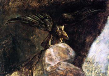 Eagle | Wilhelm Trubner | oil painting