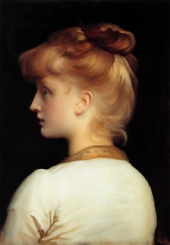 A Girl | Sir Frederick Lord Leighton | oil painting