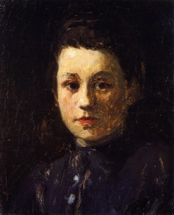 Portrait of Young Helene | Alexei Jawlensky | oil painting