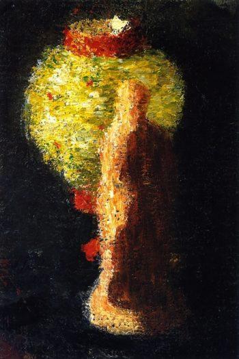 Tanagra Figure with Lampion | Alexei Jawlensky | oil painting