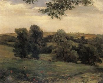 Aynhoe Park | Sir Frederick Lord Leighton | oil painting