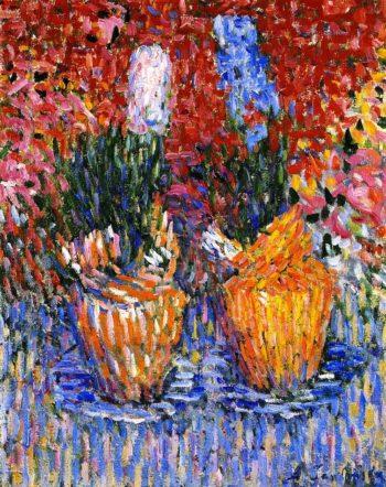 Hyacinth Pots | Alexei Jawlensky | oil painting