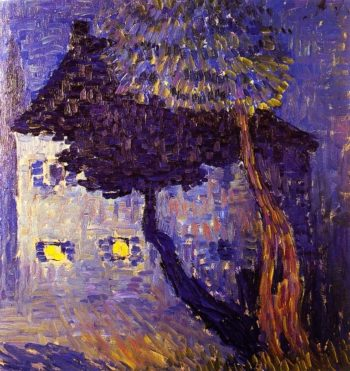 Cottage in the WoodsCottage in the Woods | Alexei Jawlensky | oil painting