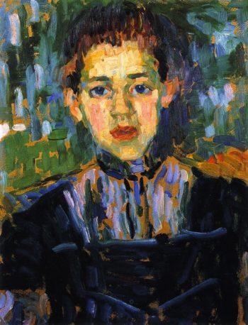 The Girl Marie | Alexei Jawlensky | oil painting
