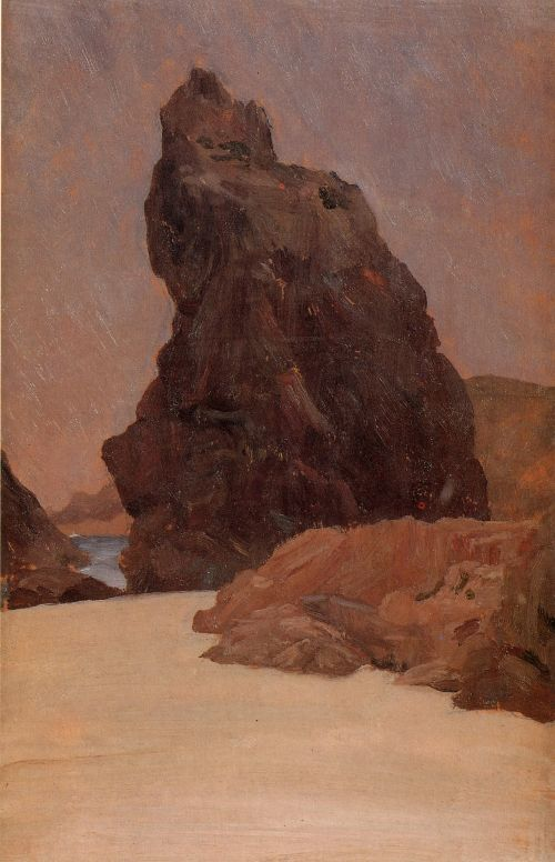 Kynance Cove   Sir Frederick Lord Leighton   oil painting
