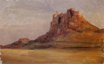 Lindisfarne Castle | Sir Frederick Lord Leighton | oil painting