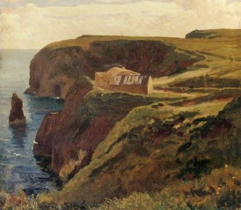 Malin Head Donegal | Sir Frederick Lord Leighton | oil painting