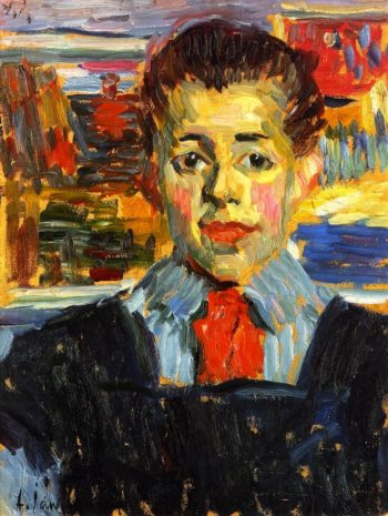 Boy | Alexei Jawlensky | oil painting
