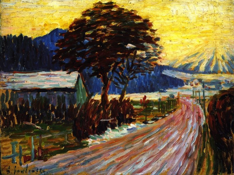 Country Road in Fussen | Alexei Jawlensky | oil painting
