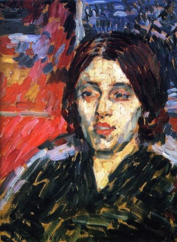 Madame Curie I | Alexei Jawlensky | oil painting