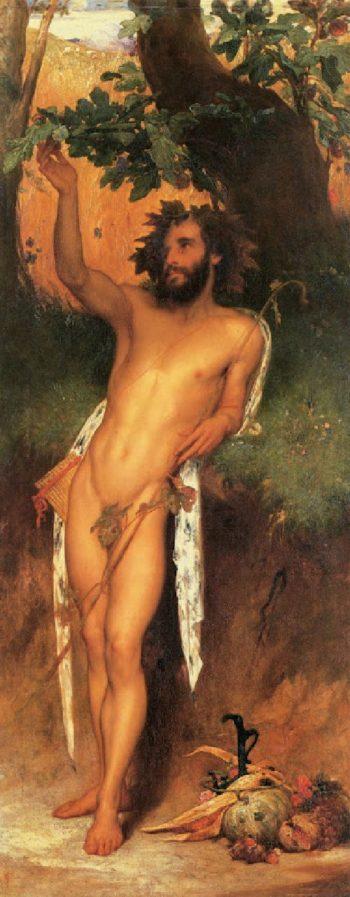 Pan | Sir Frederick Lord Leighton | oil painting