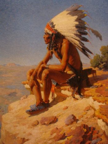 Master of His Domain | William Robinson Leigh | oil painting