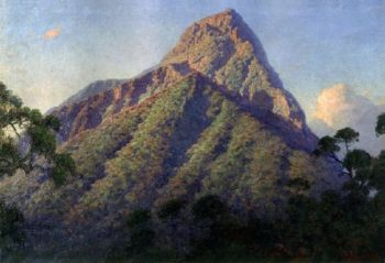 Mount Mikeno | William Robinson Leigh | oil painting
