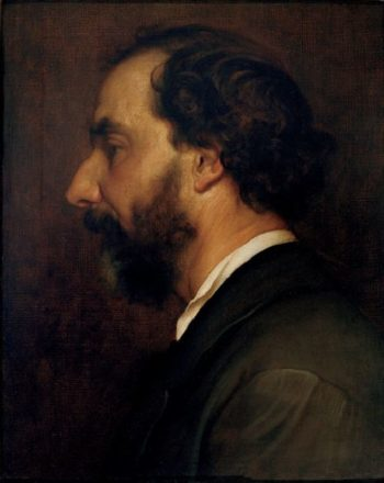 Portrait of Professor Giovanni Costa | Sir Frederick Lord Leighton | oil painting