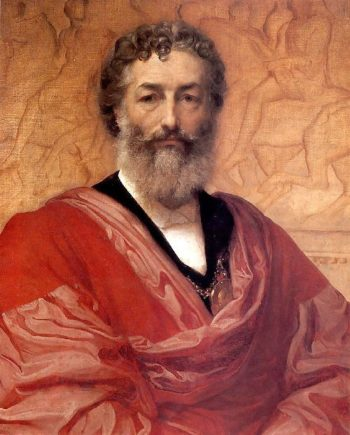 Self Portrait | Sir Frederick Lord Leighton | oil painting