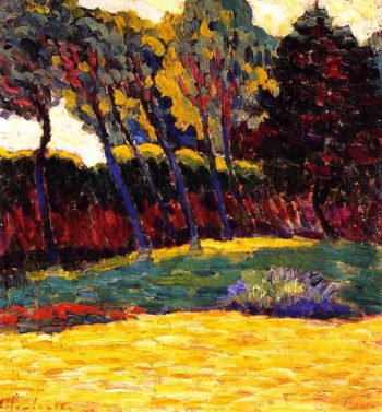 Green Trees | Alexei Jawlensky | oil painting