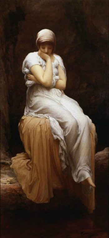 Solitude | Sir Frederick Lord Leighton | oil painting