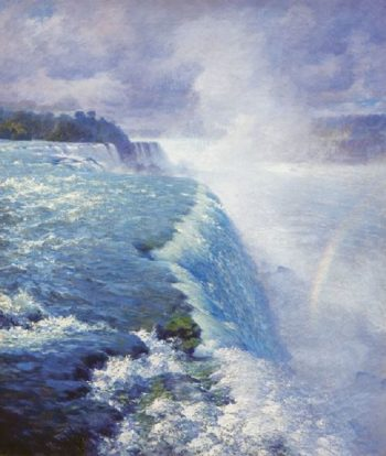 Niagara Falls | William Robinson Leigh | oil painting