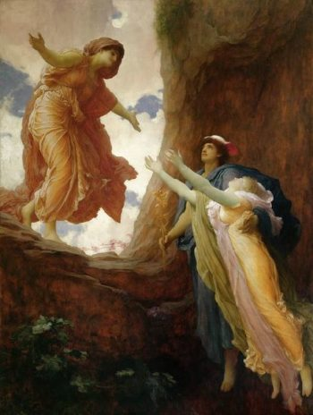 The Return of Persephone | Sir Frederick Lord Leighton | oil painting