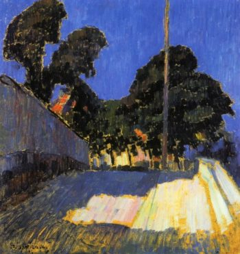 Landscape with Tree | Alexei Jawlensky | oil painting