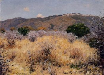 On the Moshi Plains | William Robinson Leigh | oil painting
