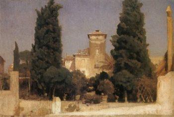 Villa Malta | Sir Frederick Lord Leighton | oil painting
