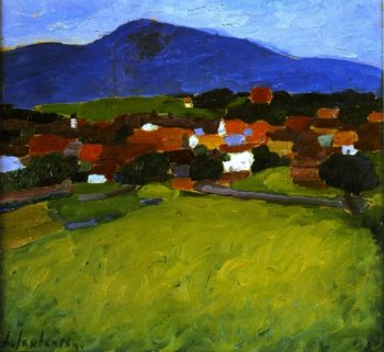 Murnau Village | Alexei Jawlensky | oil painting