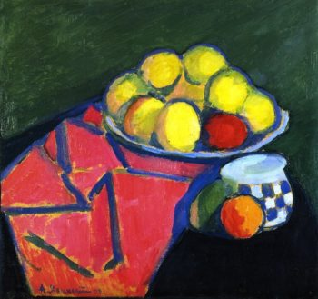 Still Life with Apples | Alexei Jawlensky | oil painting