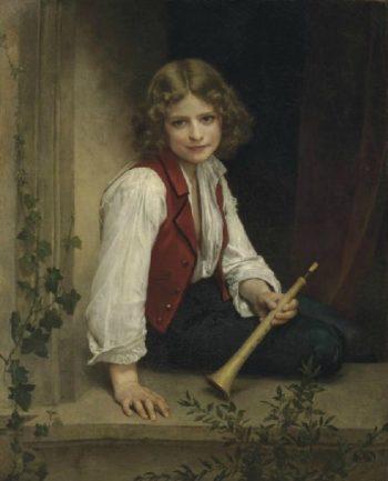 Pifferaro   William Bouguereau   oil painting