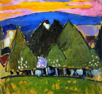 Landscape with Trees | Alexei Jawlensky | oil painting