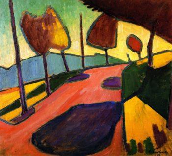 Murnau Landscape | Alexei Jawlensky | oil painting