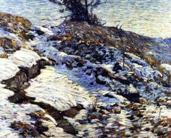 Hillside | Charles Rosen | oil painting