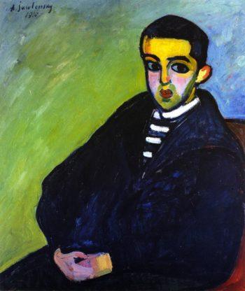 Nikita   Alexei Jawlensky   oil painting