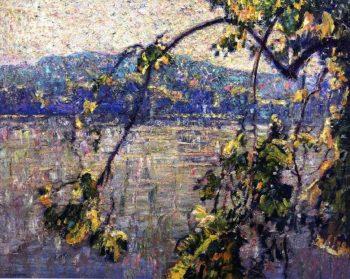 Spring Branch | Charles Rosen | oil painting