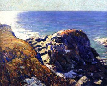 The Sun Path | Charles Rosen | oil painting