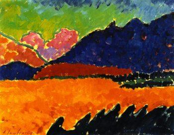 The Valley Murnau   Alexei Jawlensky   oil painting