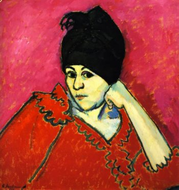 Dar Blue Turban | Alexei Jawlensky | oil painting