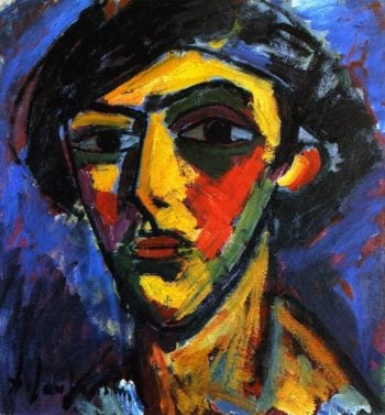 Head of a Youth | Alexei Jawlensky | oil painting