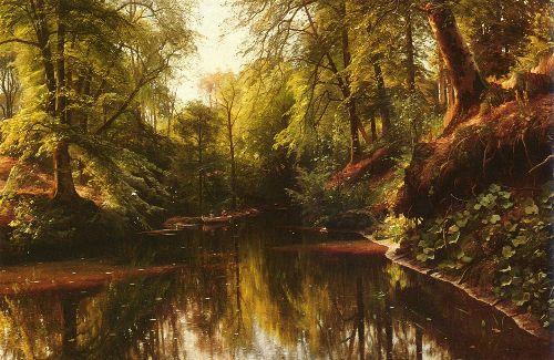 At Seaby | Peder Mork Monsted | oil painting