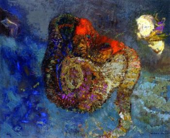 Andromeda | Odilon Redon | oil painting