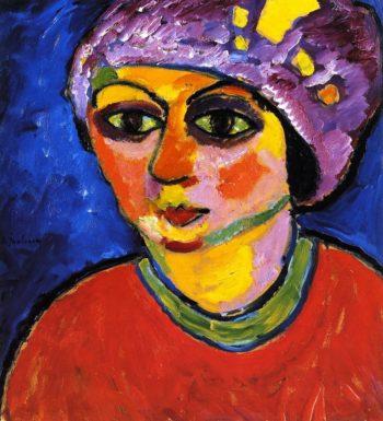 Violet Turban | Alexei Jawlensky | oil painting