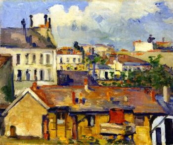Group of Houses | Paul Cezanne | oil painting